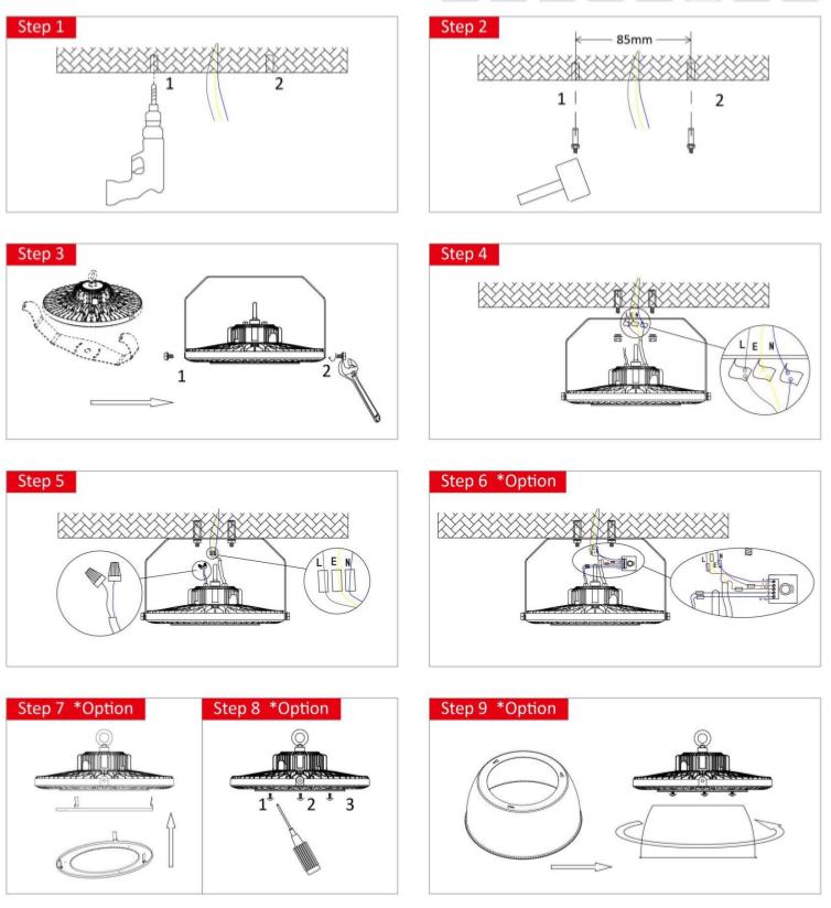 highbay installation manual